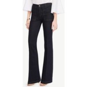 Ann Taylor High Rise The Flare Denim Jeans NWT 4